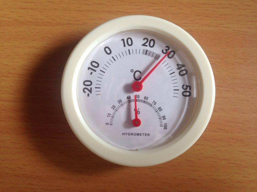 100均湿度計