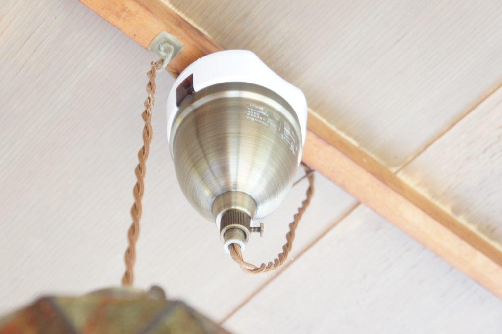 天井照明器具専用 リモコンスイッチ設置部